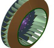 Рабочее колесо дымососа (вентилятора ВДН) ДН 17 (114000 руб.)