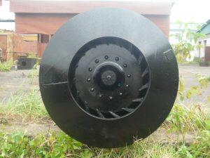 Рабочее колесо дымососа ДН 19