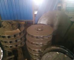 Рабочее колесо дымососа