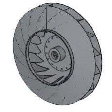 Рабочее колесо дымососа (вентилятора ВДН) Д (ВД) 9 (24000 руб.)
