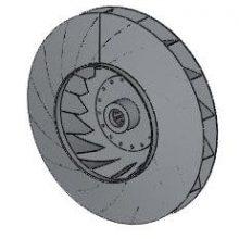 Рабочее колесо дымососа (вентилятора ВДН) Д (ВД) 13 (45000 руб.)