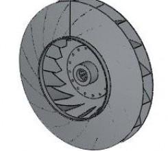 Рабочее колесо дымососа (вентилятора ВДН) Д (ВД) 17 (120000 руб.)