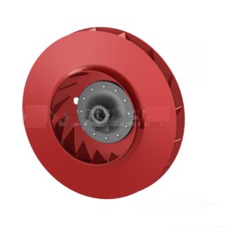 Рабочее колесо дымососа (вентилятора ВДН) 10