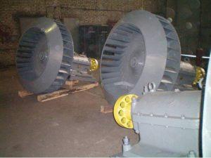 Рабочее колесо дымососа Д 15,5