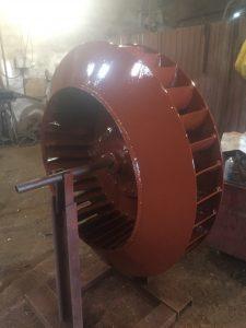 Рабочее колесо Дымососа Д 13,5