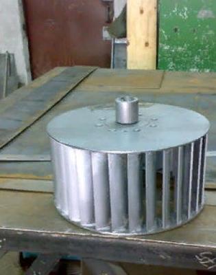 Рабочее колесо дымососа Д 3,5 (вентилятора ВД 3,5)