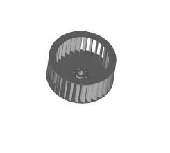 Рабочее колесо дымососа Д 3,5 (вентилятора ВД 3,5)  (9000 руб.)