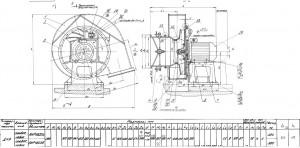 Дымосос ДН 9 (1000/1500 об.мин) технические характеристики