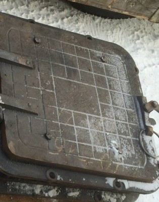 Дверка (лаз) котла КВР