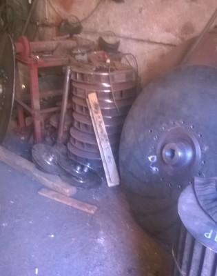 Рабочее колесо дымососа (вентилятора) ДН, ВДН 6,3