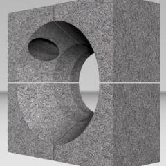 Горелочный камень для горелок ГМГ 1,5 (на котел ДКВР и др.) 24000 руб.