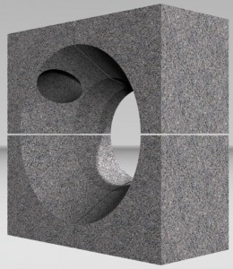 Горелочный камень для горелок ГМГ 2 (на котел ДКВР и др.)