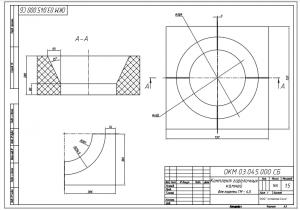 Комплект горелочных камней для горелки ГМ-4,5 чертеж