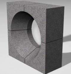 Комплект горелочных камней для горелки ГМГ-4(5) (на котел ДКВР и др.)
