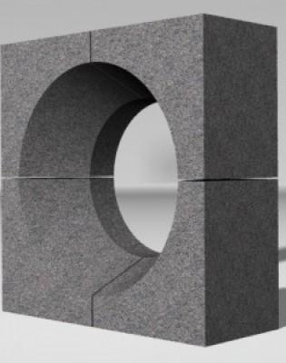 Комплект горелочных камней для горелки ГМ-7(10) (амбразура горелки котла)
