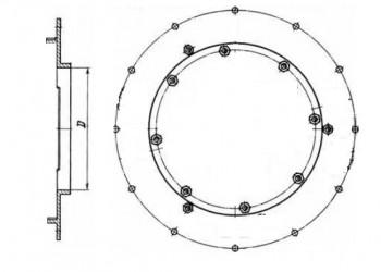 Опора горелки ГМ 2,5 (11800 руб.)