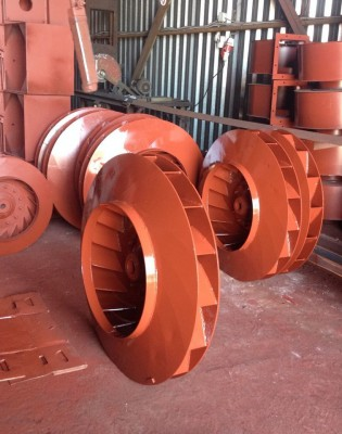 Рабочее колесо  дымососа (вентилятора) ДН 8 (ВДН 8)