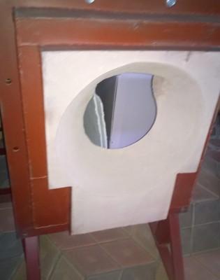 горелочный камень (амбразура горелки котла)
