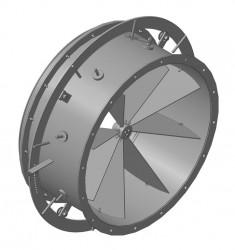 направляющий аппарат дымососа (вентилятора)