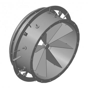 Осевой направляющий аппарат дымососа ДН 12,5 (вентилятора ВДН 12,5) (23000 руб.)
