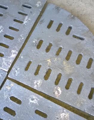 Колосник круглый сегментный 440 мм (КТФ 300) 3800 руб.