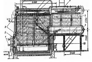 Экранные трубы котла ДКВР 10-13