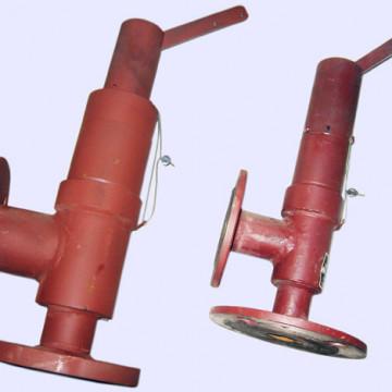 Предохранительный клапан на котел дквр