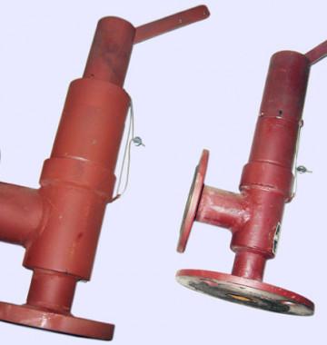 Клапан предохранительный пружинный Ду 50 Ру 16 (ДКВР 4-13 ;6,5-13)