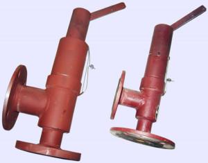 Предохранительный пружинный клапан на котел ДЕ