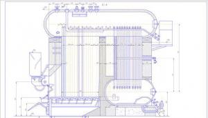 Экранные трубы котла ДКВР 2,5-13
