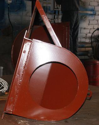 всасывающий карман дымососа (вентилятора)