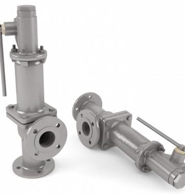 Клапан предохранительный пружинный Ду 50 Ру 40 (ДЕ 6,5-14; ДЕ 10-14; ДЕ 16-14)