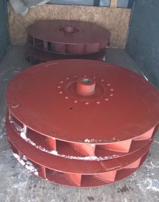 Рабочее колесо дымососа (вентилятора) ДН (ВДН)