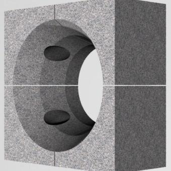 Горелочный камень для горелок ГМГБ 5,6 (на котел ДКВР и др.) (амбразура горелки котла)