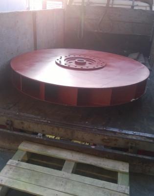 Рабочее колесо дымососа (вентилятора) ДН (ВДН) 17