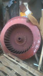 Рабочее колесо дымососа (вентилятора) Д (ВД) 13,5