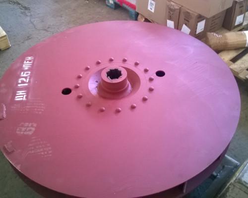 Рабочее колесо дымососа (вентилятора) ДН (ВДН) 12,5