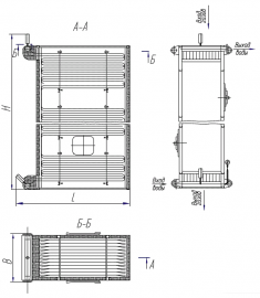 Экономайзер БВЭС V-1 (5-1)