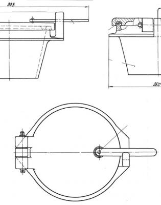 Люк шуровки (шуровочный люк) 00.9692.005 СБ
