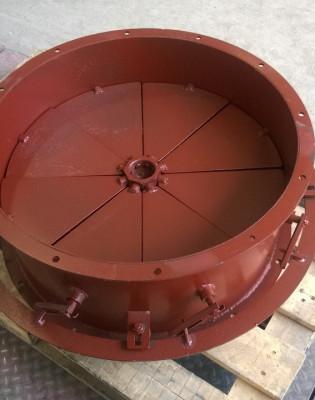 осевой направляющий аппарат дымососа (вентилятора)