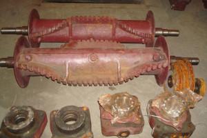 Лопатка ротора забрасывателя ЗП-600 Запасные части к забрасывателю ЗП Т67.01.001 М2