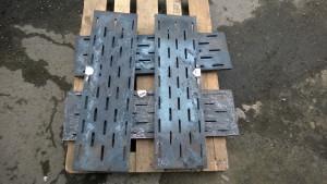 Чугунный колосник (колосниковая решетка) 900 250 (900х250)