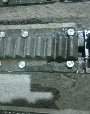 Сегмент зубчатой рейки ТШПМ