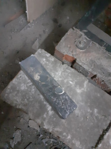 чугунный кирпич для бани (кирпич для каменки из чугуна)