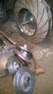 Ступица на рабочее колесо дымососа Д, ДН (вентилятора ВД, ВДН)