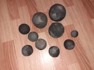 чугунные ядра для бани (чугунные шары)