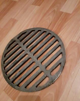решетка гриль чугунная круглая 330мм ( для мангала и др.)
