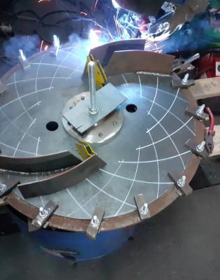 Рабочее колесо дымососа (вентилятора) ДН (ВДН) 6,3