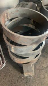 Воротник (кольцо) на овальный люк лаз 440/365мм