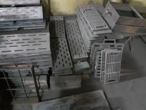 Чугунный колосник (чугунная колосниковая решетка) 610 200 (610х200)